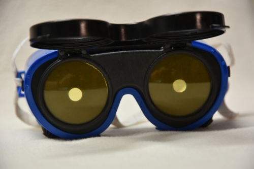 15 degrees peripheral vision simulation optics